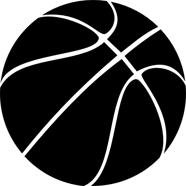 Basketball Hoop Clipart Black And White | Clipart Panda - Free Clipart ...