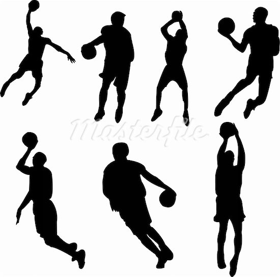 Basketball player images clip art