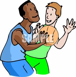 A White and Black Boy Playing | Clipart Panda - Free ...