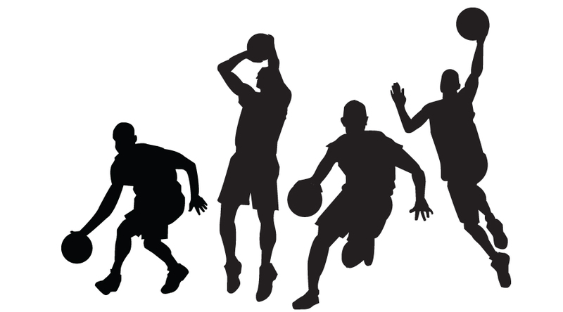 Clip Art Basketball Images Clip Art basketball player clipart black and white panda free