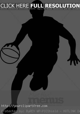 basketball%20player%20clipart%20black%20and%20white