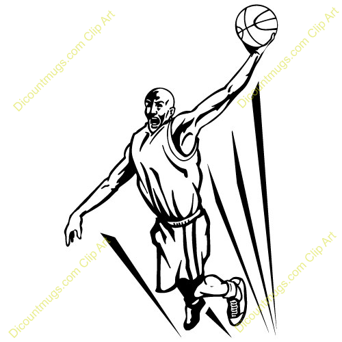 basketball player dunking | Clipart Panda - Free Clipart Images