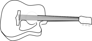 bass%20guitar%20clipart%20black%20and%20white