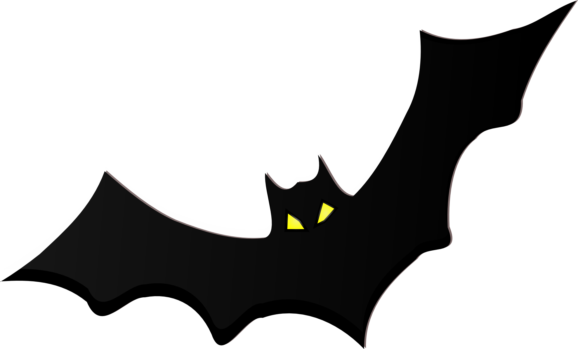bat clipart clip bats cartoon drawing printable batman craft halloween powerpoint cliparts activities night vampire