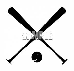 baseball ball clipart clipart panda free clipart images Baseball Crossed Bats Clip Art Black and White crossed baseball bats clipart