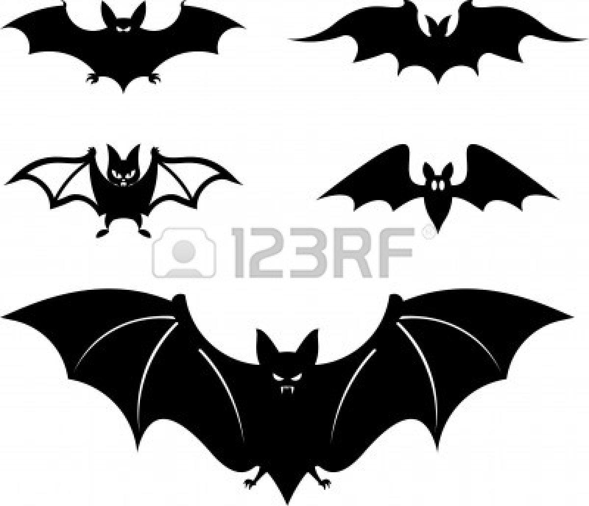 Bat wings clip art the image kid has it - Murcielago para imprimir ...