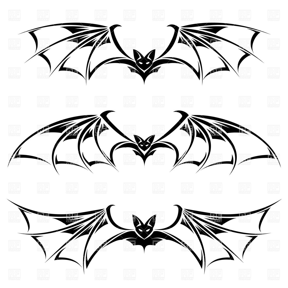 Bat Wings Clipart | Clipart Panda - Free Clipart Images