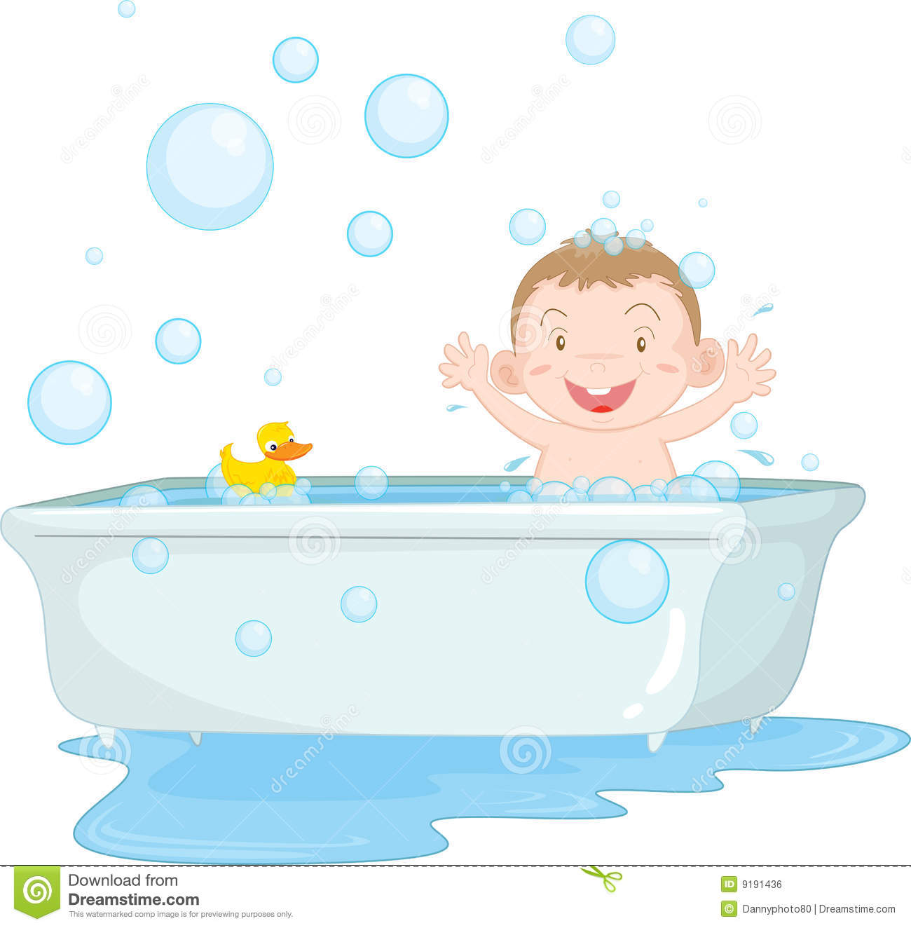 Baby Bath Illustrations And Clip Art 193 Baby Bath Royalty Free