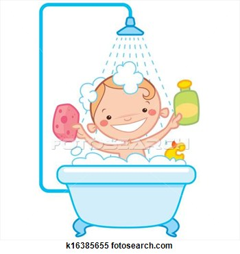 Bath Clipart For Kids