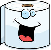Toilet Paper Smiling | Clipart Panda - Free Clipart Images