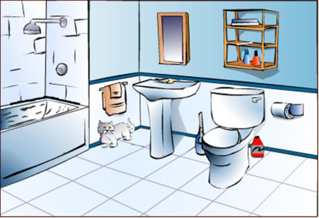 bathroom clipart | clipart panda - free clipart images