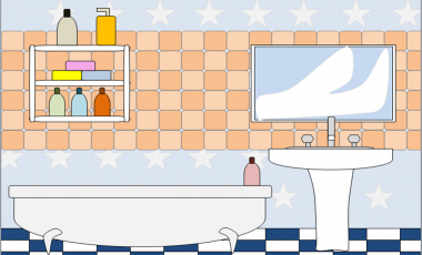 Bathroom clipart for kids clipart panda free clipart for Children s bathroom designs