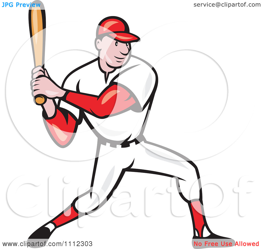 free clipart of a baseball player - photo #10