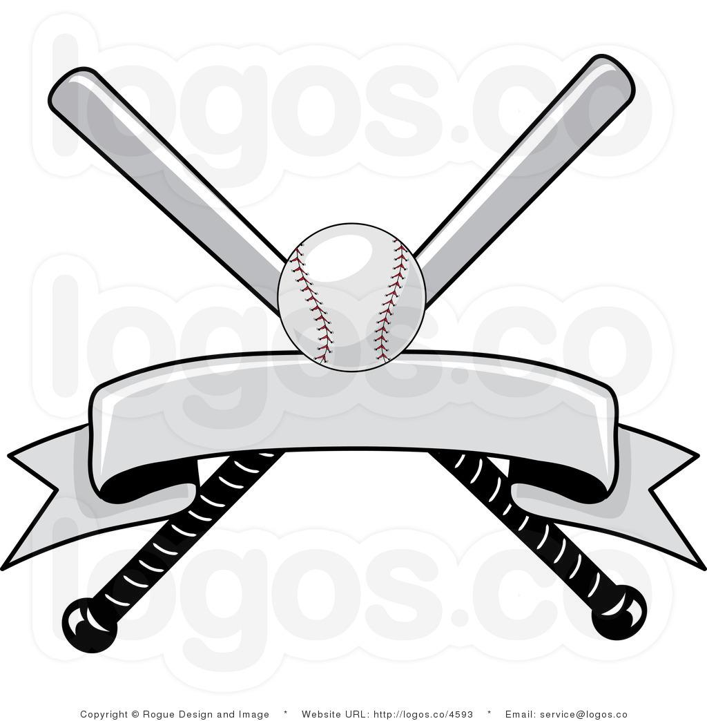 baseball bat and ball black and white