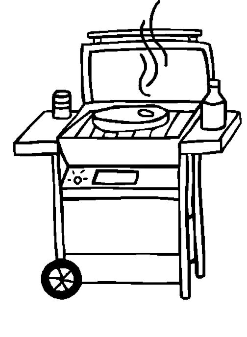 bbq black and white clipart panda free clipart images. Black Bedroom Furniture Sets. Home Design Ideas