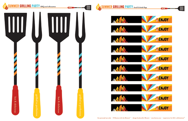 Bbq Border Template | Clipart Panda - Free Clipart Images