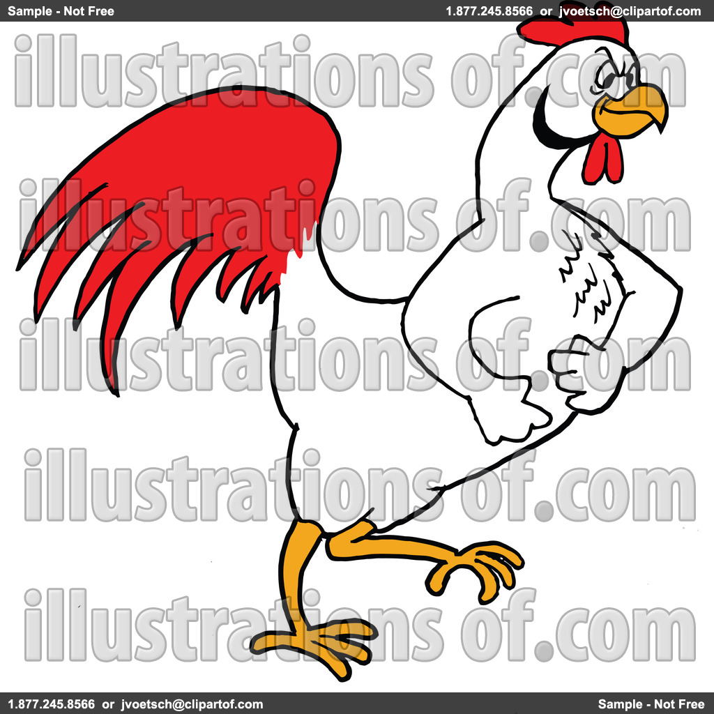Bbq Chicken Clipart Royalty Free Rf Illustration By