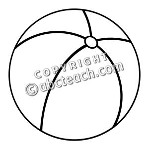 Beach20Ball20Clip20Art Free Beach Clipart Volleyball Worksheet Clip Art