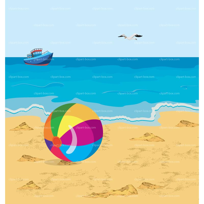 clipart beach scenes - photo #44