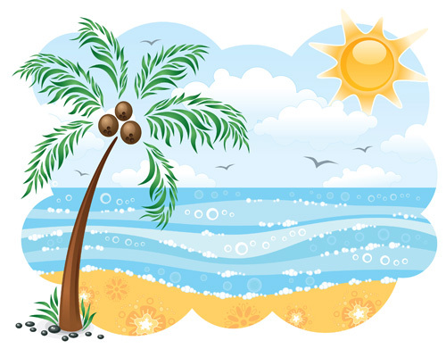 free beach clipart clipart panda free clipart images rh clipartpanda com Beach Graphics Blue Water Beach