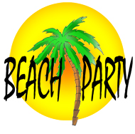 party clip art beach party sun clipart panda free clipart images rh clipartpanda com  summer beach party clipart