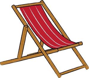 beach chair clipart black and white clipart panda free