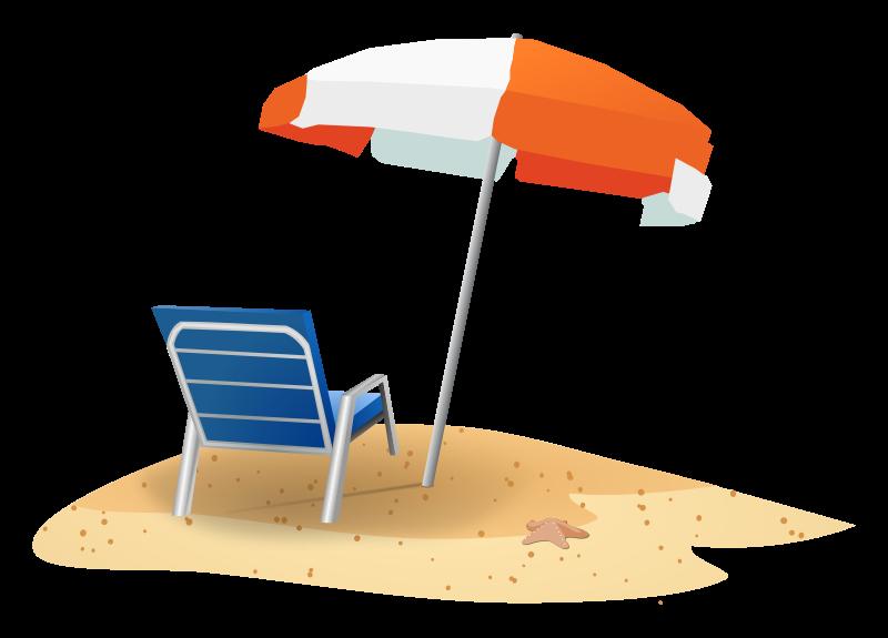 free beach vacation clipart - photo #19
