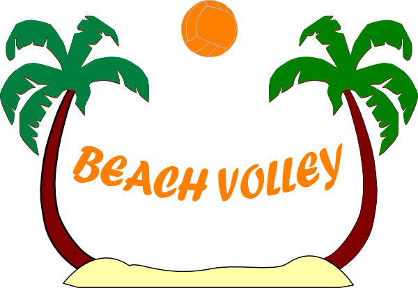 Beach Volleyball Clipart Free