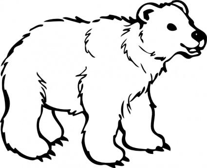 Clip Art Bear Clip Art growling grizzly bear clipart panda free images