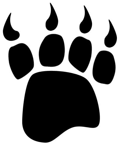 bear paw clipart black and white clipart panda free clipart images rh clipartpanda com Bear Claw Graphic Bear Claw Print Clip Art