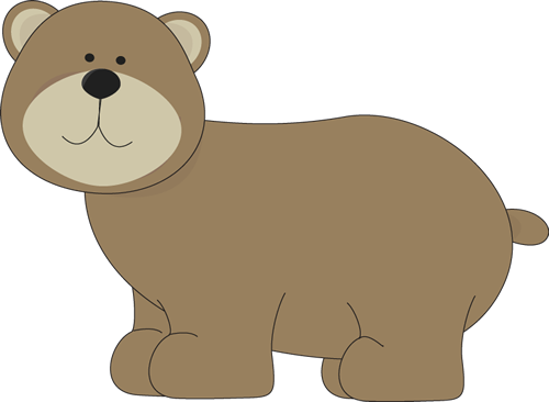 Cute grizzly bear clipart - photo#6