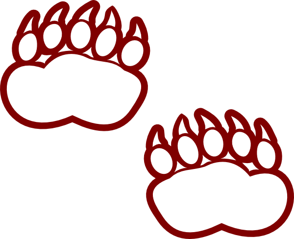 Grizzly Bear Paw Print Clipart | Clipart Panda - Free
