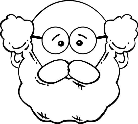Download Man With Beard Clipart