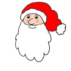 clip art santa holding | Clipart Panda - Free Clipart Images