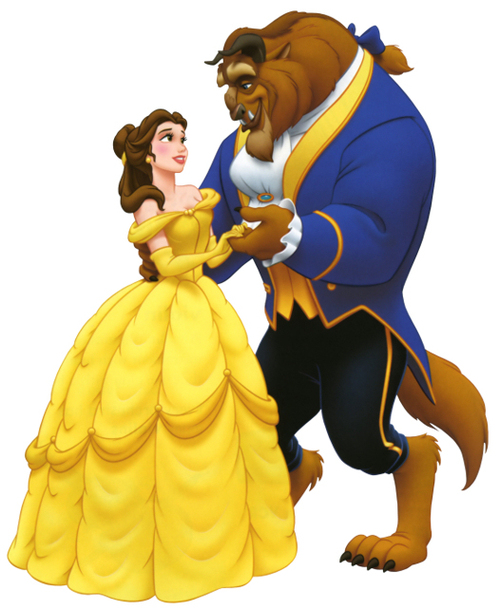Beauty And The Beast Clip Art Clipart