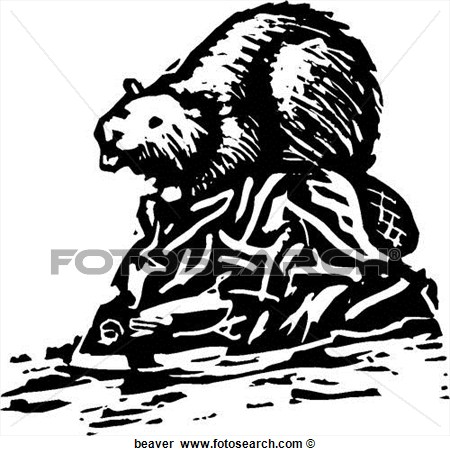 black and white beaver clip art car interior design. Black Bedroom Furniture Sets. Home Design Ideas