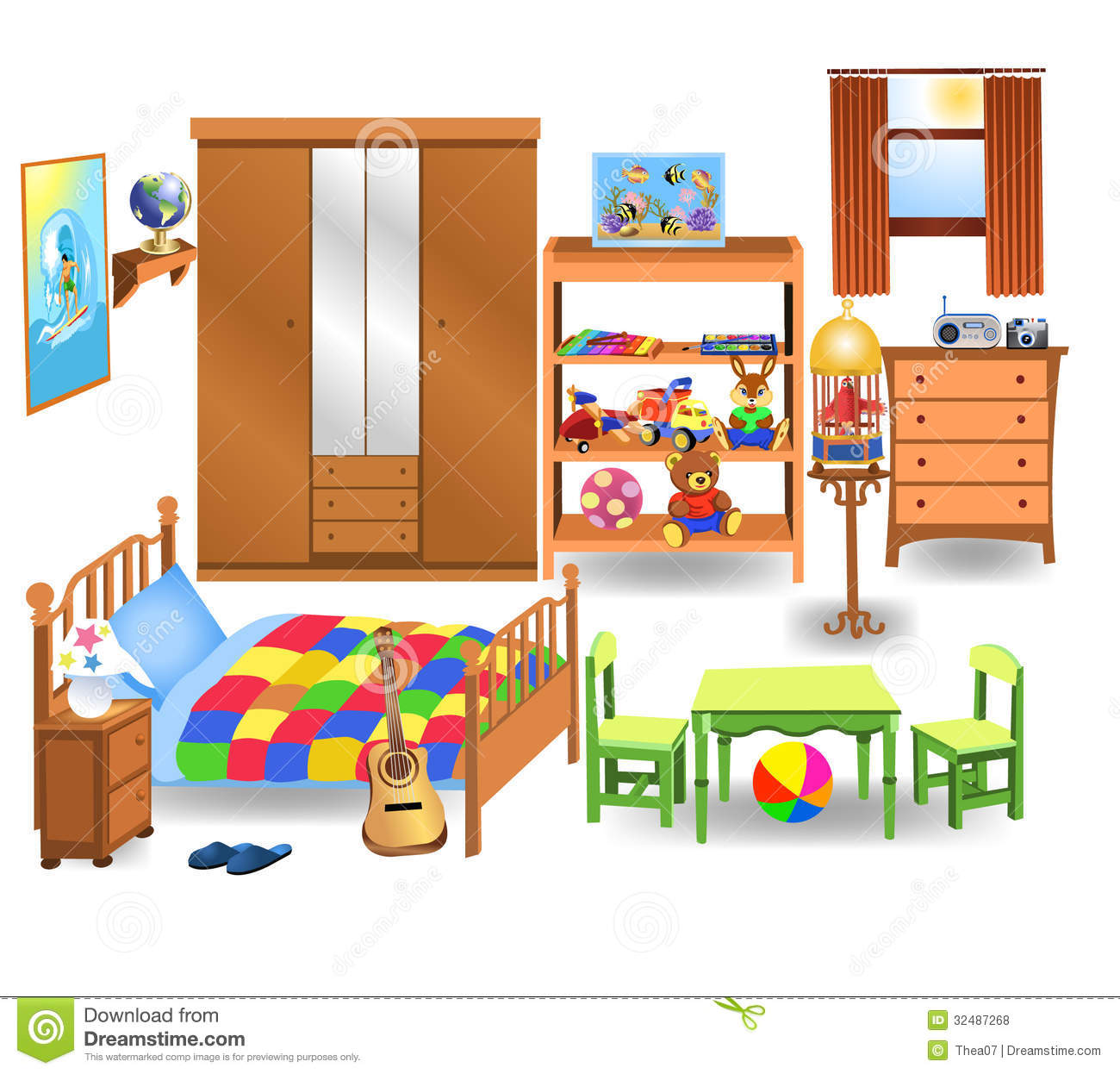 Bedroom Clipart Cliparts