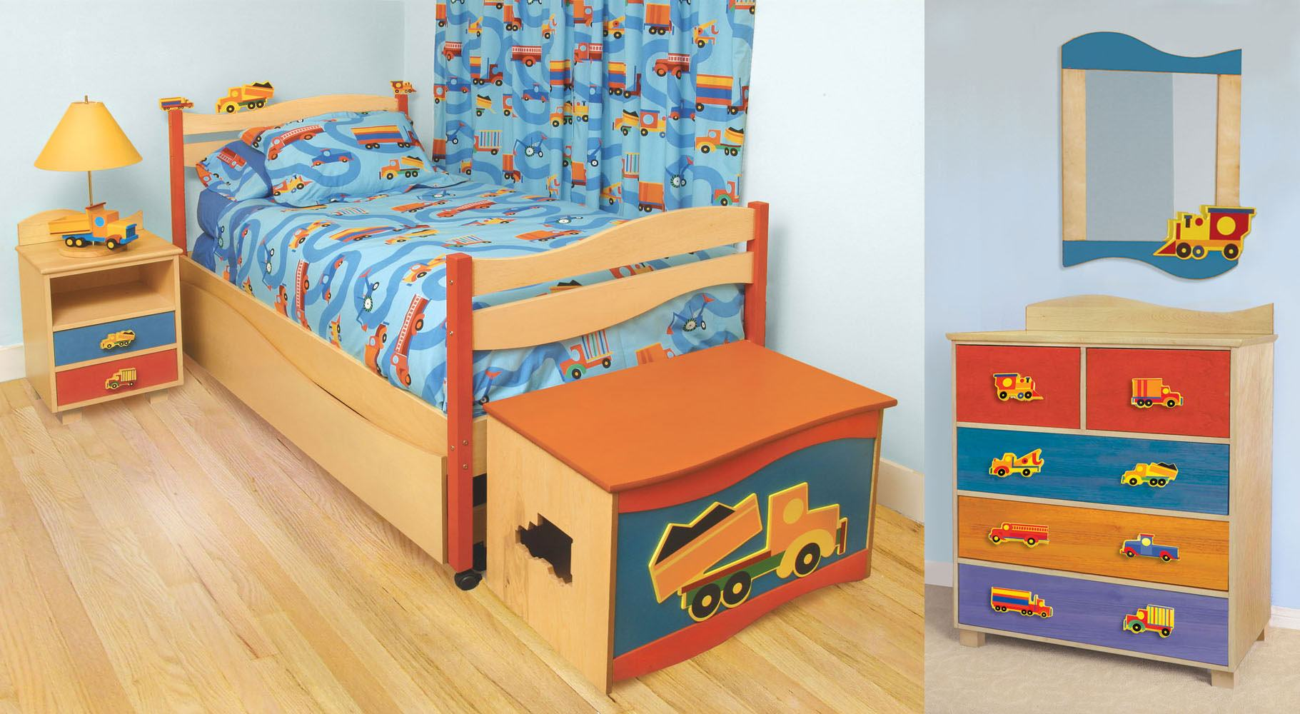 Bedroom furniture twin