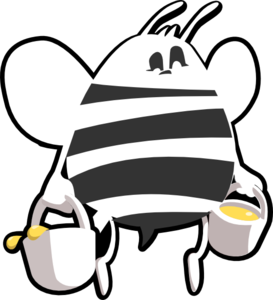 beehive%20clipart%20black%20and%20white