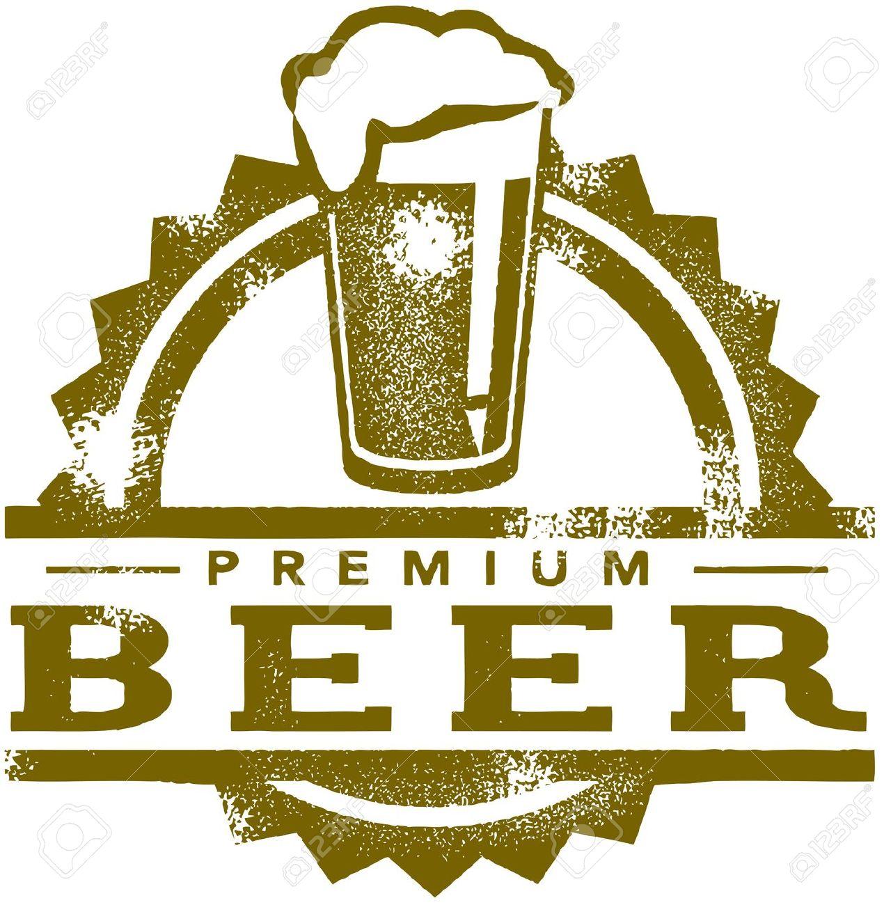 beer-clipart-13846293-Vintage-Premium-Beer-Stamp-Stock-Vector-beer ...