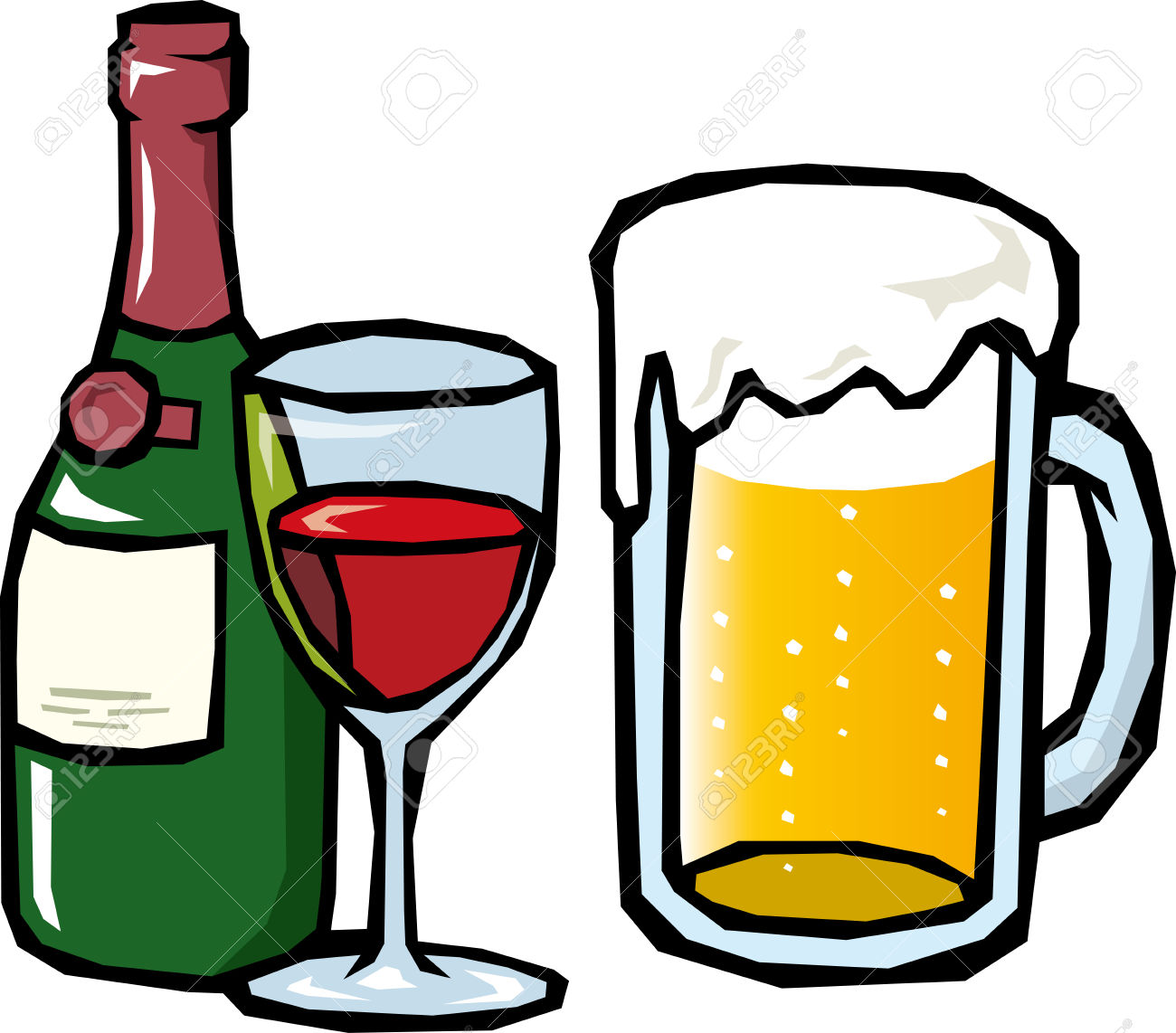 free beer clipart - photo #9