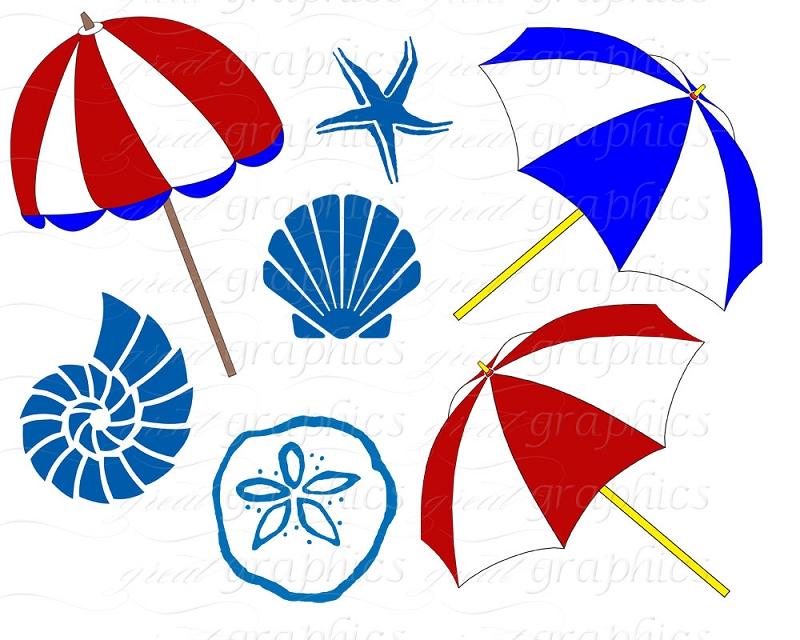 Beach Umbrella Clipart Black And White | Clipart Panda ...