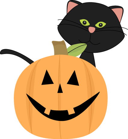 Halloween Black Cat Clipart | Clipart Panda - Free Clipart Images
