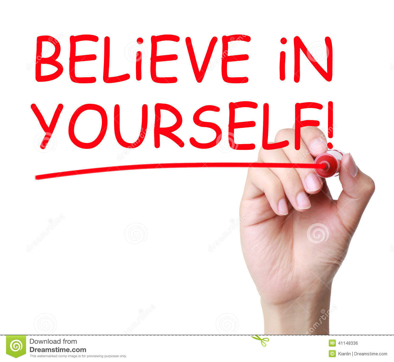 Believe in Yourself Clip Art Free
