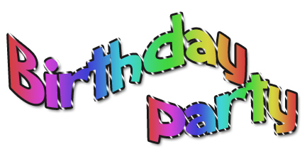 Kids Birthday Party Clip Art Clipart Panda Free Clipart Images