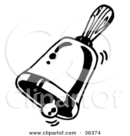 Bell Clip Art Black and White – Cliparts