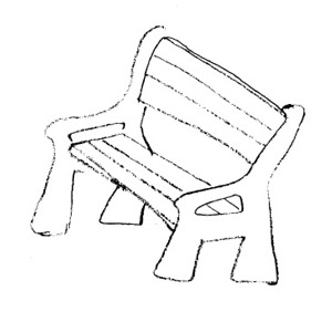 Surprising Park Bench Clipart Black And Clipart Panda Free Clipart Squirreltailoven Fun Painted Chair Ideas Images Squirreltailovenorg