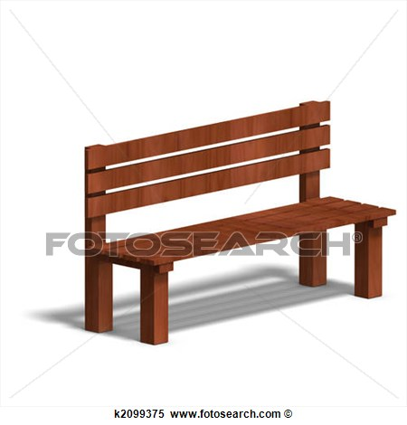 park benchPark Bench Clipart Black And White