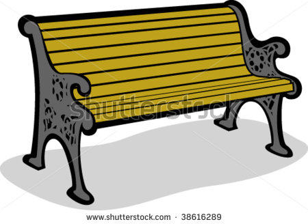 bench-clipart-stock-vector-vector-illustration-of-a-park-bench    Park Bench Clipart Black And White