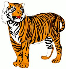 tiger clipart clipart panda free clipart images rh clipartpanda com tiger clipart for kids tiger clipart standing